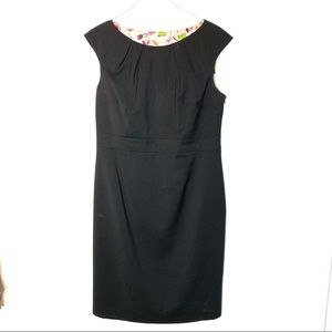 Classic 100% Wool Boden Little Black Dress